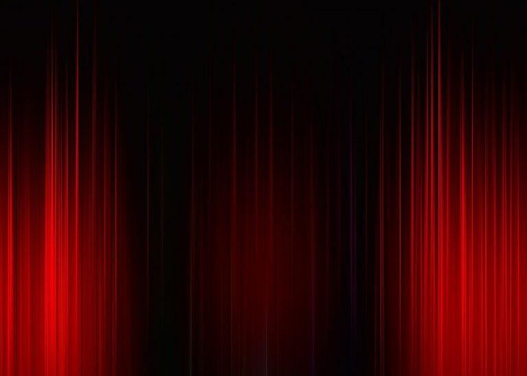 theater, cinema, curtain